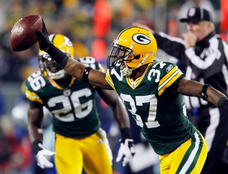 Sam Shields has resigned to the Packers with a one year contract.