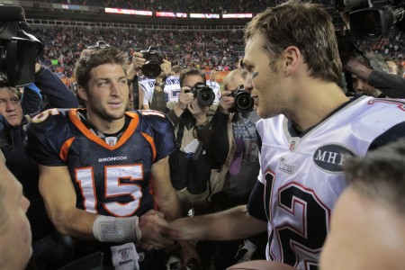 Tim Tebow has signed with the New England Patriots to back up Tom Brady