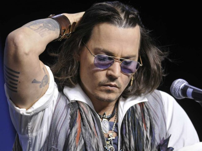The Lone Ranger's Johnny Depp Accused Of Using Strange Rituals to Preserve Youthfulness