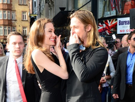 Angelina Jolie World War Z premiere