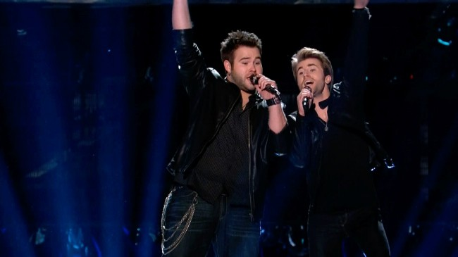The Voice The Swon Brothers will win