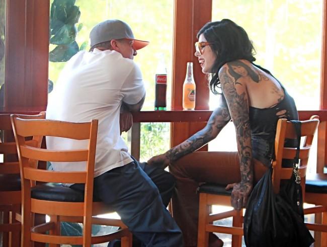 Kat Von D No Man Will Ever Touch Her Again Deadmau5 Thinks