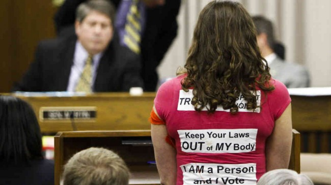 Republican's Fight To Protect Their Right To Control Womens Bodies
