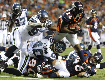 Following his release from the Denver Broncos, free agent Willis McGahee has several potential landing spots.