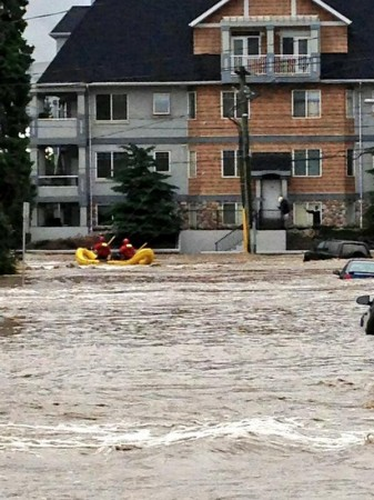 #yycflood erlton, rescue, #calgary