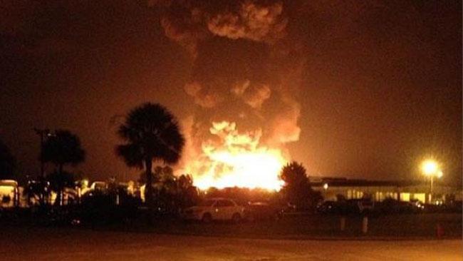 Explosion in Florida