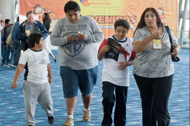 Obesity in Mexico escalating in children and adults