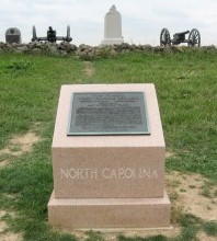 North Carolina Monument, Cemetery Ridge, Gettysburg National Military Park