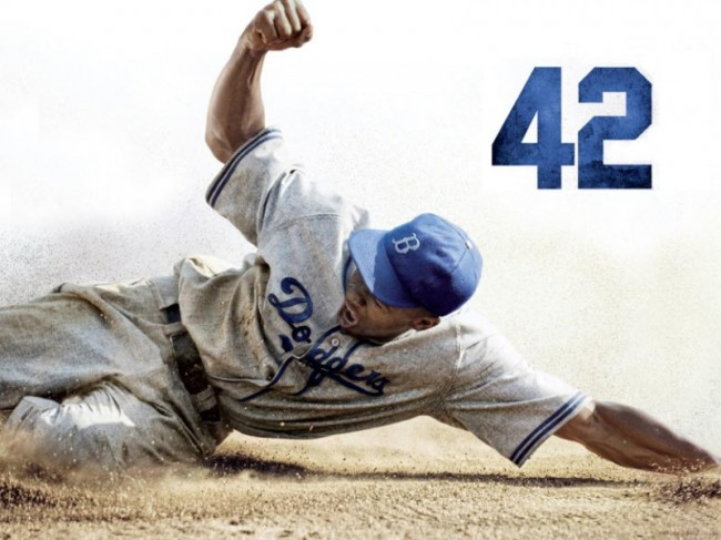 42 a Sharp Earnest Tale About Jackie Robinson