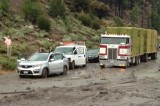 Update: California Mudslide Forces Cars to Swerve off Highway Injuring Four