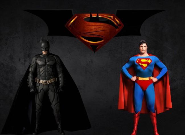 Clark Kent and Bruce Wayne