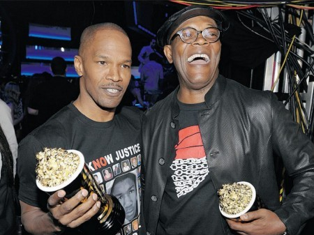 Foxx and Jackson talk Zimmerman verdict at Comic Con