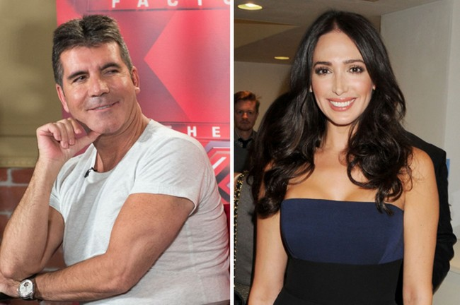Simon Cowell, lauren silverman, pregnant, married