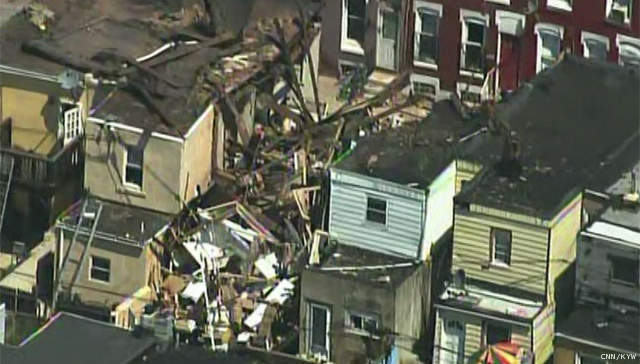 Home Explodes Sending Eight Victims to Nearby Hospitals