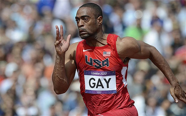 Positive Tests for Doping Track and Field Sport Tyson Gay