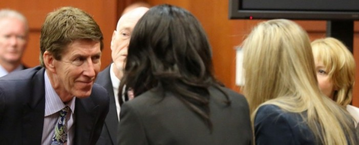 Zimmerman's Fate Now Lies in the Hands of Six Female Jurors
