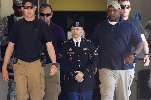 Bradley Manning Not Guilty of Aiding the Enemy, Convicted of 20 Charges