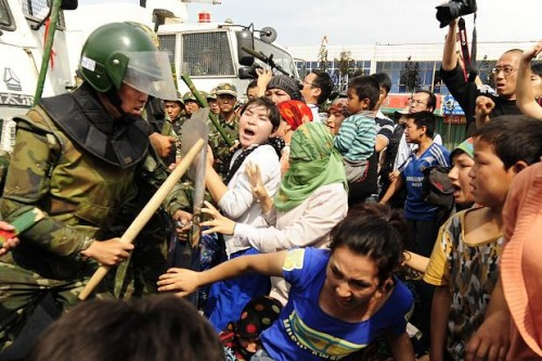 ethnic Uighurs riot in China