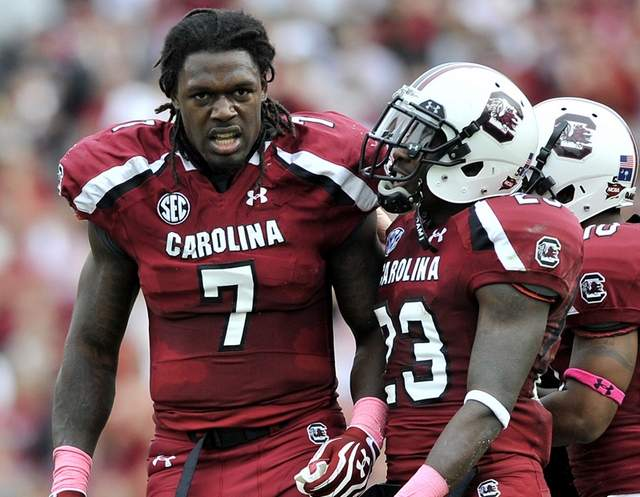 Jadeveon Clowney a Force to Be Reckoned With