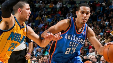 Kevin Martin has left the Thunder to sign with the Timberwolves.