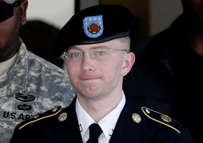 Bradley Manning Avoids 'Aiding the Enemy' Law