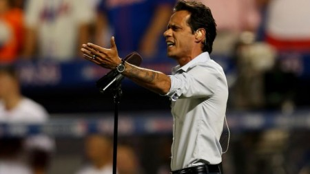 Marc Anthony Criticized for Being a Mexican-American; Sings at MLB All-Star Game [Video]