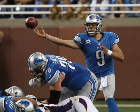 Mechanics are still an issue for Matt Stafford.