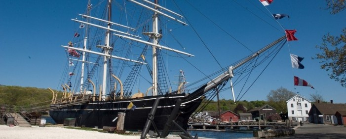 Restored Whaling Ship Charles W. Morgan Sails Through History