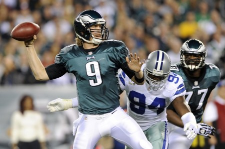 Nick Foles is entering his second year, he impressed scouts during six rookie starts last season.