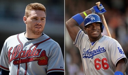 The final spot on the NL All-Star game is down to Freeman and Puig, it's up to you to decide who gets in.