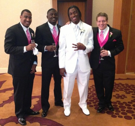 RG III of the Washington Redskins was married this weekend, and also had his debut rap video go viral on YouTube.