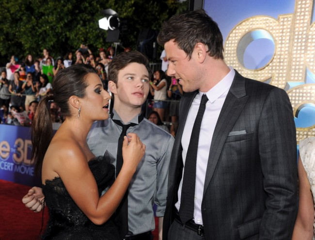 Cory Monteith an Emotional Celebration of His Life Yesterday