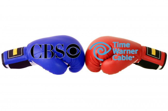 cbs, time warner cable, a la carte