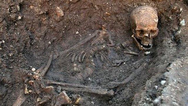 Skeleton of Richard III found