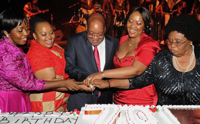 President Jacob Zuma's 70th Birthday Celebration