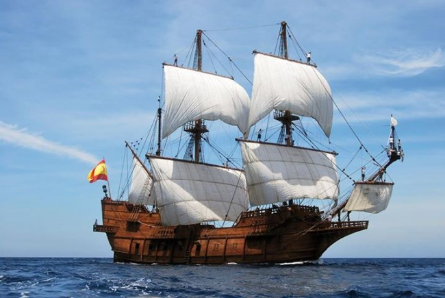 El Galeón, historic replica of Ponce de León's ship