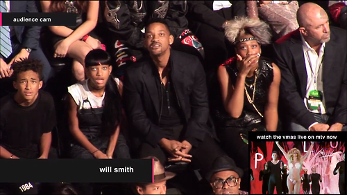 The Smith family's reaction was centered on Lady Gaga