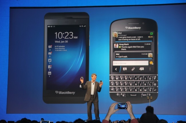 Z30, blackberry closing, blackberry, closing, thorsten heins