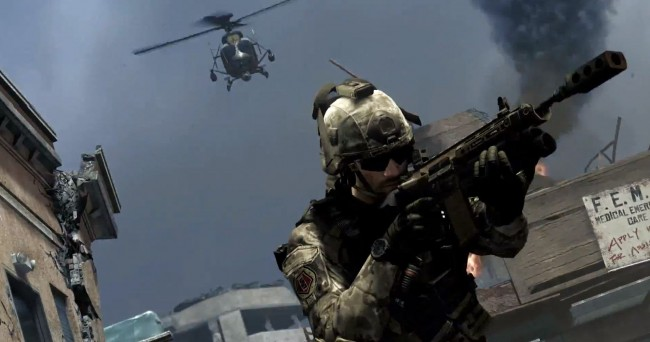 Call of Duty Ghosts Helicopter