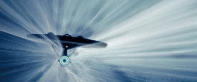 Enterprise Warp Drive Space Craft