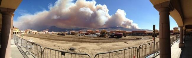California Banning Fire (Silver Fire)