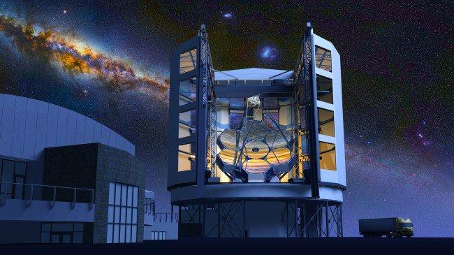 Giant Magellan Telescope Concept Art