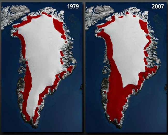 Greenland Ice Sheet Melting