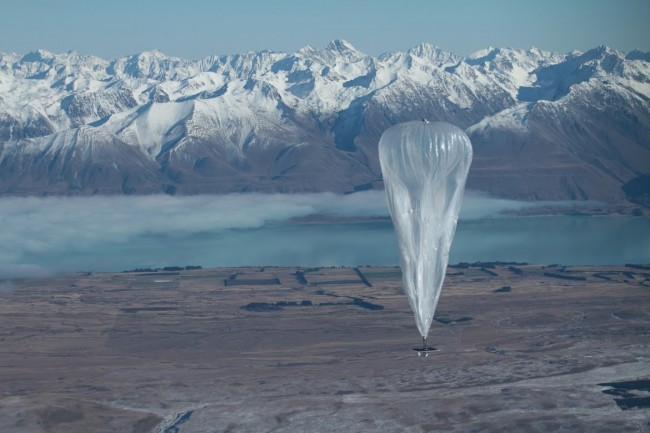 Google's Project Loon Balloon Wallpaper
