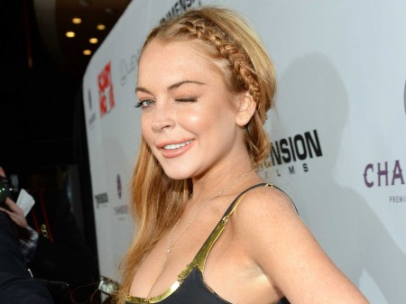Lindsay Lohan Better at Hosting Chelsea Lately Than in Her Last Film h