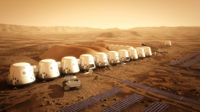 Mars One Space Mission