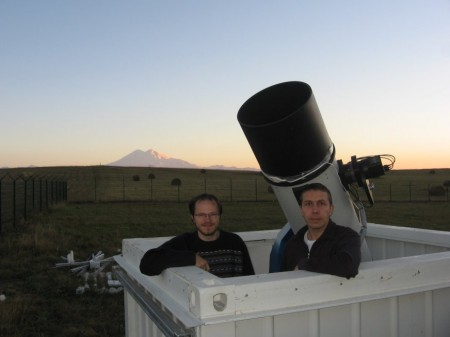 Copyright: Vitali Nevski and Artyom Novichonok. At their observatory