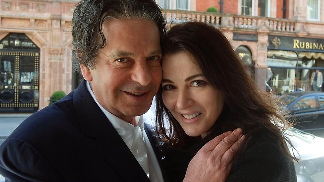 Nigella Lawson Divorced from Charles Saatchi