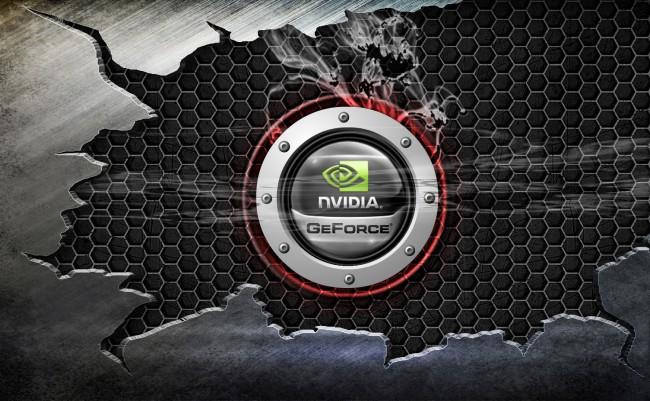 Nvidia Wallpaper or Logo