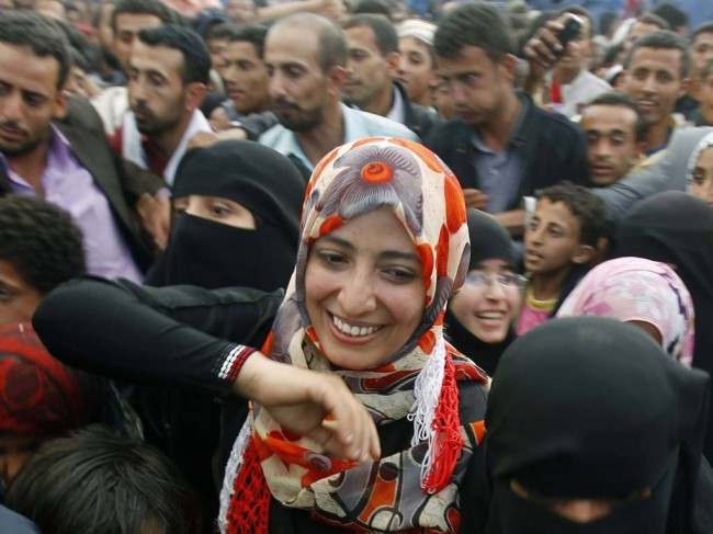 Nobel Peace Prize Winner Tawakul Karman Turned Away from Cairo Airport